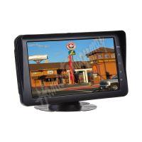 """VZ11 AHD monitor 7"""" s integrovanou přední kamerou + 1x4PIN vstup, DVR"""