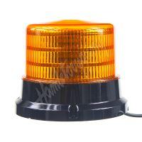 911-75m x PROFI LED maják 12-24V 36x0,5W oranžový magnet ECE R65 167x132mm