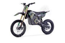 Elektrická motorka MiniRocket Coyote 1300W 48V zelená kola 14/12 predvadeci kus