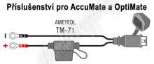 TM-71 příslušenství k Accumate a Optimate - propojení s očky s těsněním