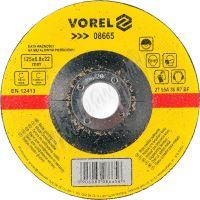 Kotouč na kov 125 x 22 x 6,8 mm vypouklý brusný