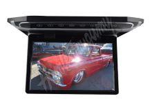 """ds-121bl Stropní LCD monitor 12,1"""" černý s HDMI/microSD/IR/FM, ultra tenký"""