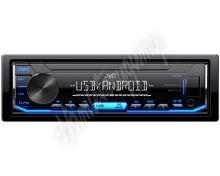 KD-X151 JVC autorádio bez mechaniky/USB/AUX/modré podsvícení/odnímatelný panel