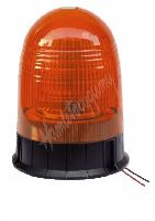 wl88fix LED maják, 12-24V, 18x3W, oranžový fix, ECE R65
