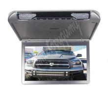 """ic-133slim Stropní monitor 13,3"""" šedo/stříbrný s SD/USB/IR/FM/HDMI"""