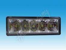 drltop100/2 LED světla pro denní svícení, 100x35mm, ECE