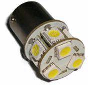 95126 LED BAU15s bílá, 12V, 9LED/3SMD