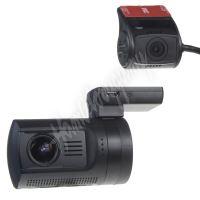"""dvrb24dual DUAL miniaturní FULL HD kamera, GPS + 1,5"""" LCD, HDR, dálkové ovl."""