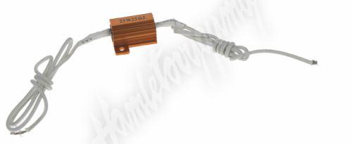 ledr-10w Rezistor pro žárovku 12V/10W, 25 ohm, hliníkové pouzdro