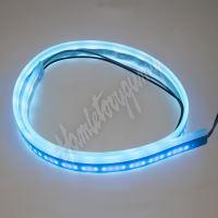 LFT60slimiceblu LED silikonový extra plochý pásek ledově modrý 12 V, 60 cm