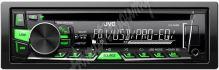 KD-R469 JVC autorádio s CD/MP3/USB/zeleně nebo červeně podsvícená tlačítka/odním.panel