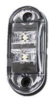 kf662E Přední obrysové světlo LED, bílý ovál