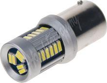95283 LED BA15d (jednovlákno) bílá, 12-24V, 30LED/4014SMD