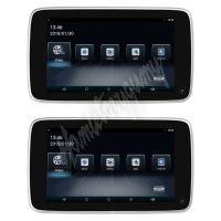 """ds-x108Vo Set LCD monitorů 10,8"""" OS Android/USB/SD s držákem na opěrku pro VOLVO"""