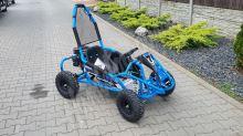 Dětská Bugina MiniRocket MudMonster 4 Takt 98ccm Modrá