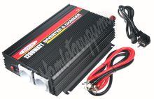 35909 Autonabíječka 12V/10A + měnič 1200W 12/230V, UPS