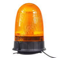 wl55 LED maják, 12-24V, oranžový magnet, 80x SMD5050, ECE R10