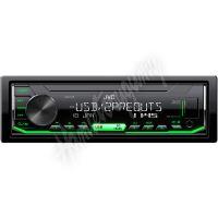 KD-X176 JVC autorádio bez mechaniky/USB/AUX/multicolor podsvícení/odnímatelný panel