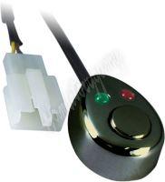 47024 Spínač tlačítkový 12/24V s LED podsvícením
