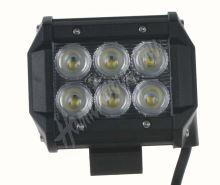 wl-cree18 LED 6x3W světlo na prac.stroje, 9-32V, 99x73x107mm