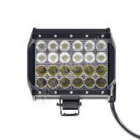 wl-cree72-2c LED světlo,dva úhly vyzařování 8/60°, 24x3W, 167x93x167mm