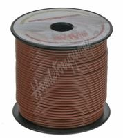 3100206 Kabel 1,5 mm, hnědý, 100 m bal