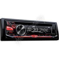 KD-DB67 JVC DAB/FM autorádio s CD/MP3/USB/červeně podsvícená tlačítka/odním.panel
