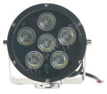 wld601 LED světlo kulaté, 6x10W, o125mm, R112