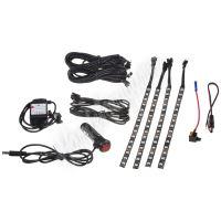 95RGB-SET05 LED podsvětlení vnitřní/vnější RGB 12V, bluetooth, 4 pásky