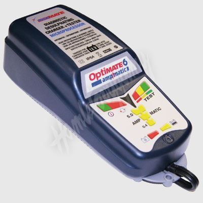 OptiMate 6 (12V/0,8-5A) 15-240 Ah, Auto-Moto Automatická nabíječka gelových bateriíčka