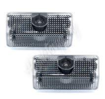 lo-omME5 x LED logo projektor pro vozy Mercedes-Benz GLK/A/B integrován v osvětlení dveří