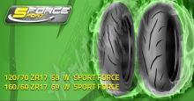 Mitas Sport Force+ 180/55 ZR17 M/C (73W) TL zadní