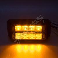 911-C4D PROFI DUAL výstražné LED světlo vnější, 12-24V, oranžové, ECE R65