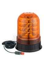 wl93 LED maják, 12-24V, 24x3W oranžový, magnet, ECE R65