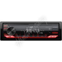 KD-X172DB JVC DAB autorádio bez mechaniky/USB/AUX/červené podsvícení/odnímatelný panel