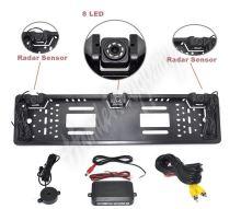 ps2spzcam2 Parkovací systém s kamerou a 2 senzory v SPZ