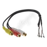 mi009 Adaptér A/V vstup pro TV tuner Audi A8, A6, Q7