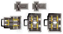 21041 Konektor ISO Kia Sephia Sportage