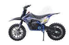 Elektrická motorka Minicross 54502 500w modrá