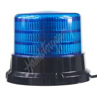 911-75fblu PROFI LED maják 12-24V 36x0,5W modrý ECE R65 167x132mm