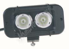 wl-cr10-20w LED 2x10W prac.světlo, 10-70V, 127x64x92mm