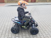 Dětská čtyřtaktní čtyřkolka ATV FactoryTeam 90ccm 4T - Žlutá
