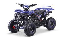 Dětská dvoutaktní čtyřkolka ATV MiniHummer Deluxe 49ccm modrá