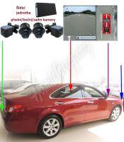 VZ23 Kamerový systém Birdview s DVR a zobrazením 360°