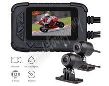 "dvrb06m Motocyklová DUAL FULL HD kamera, 2,4"" LCD, IP67 s GPS"