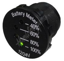 34541 x LED indikátor baterie 12-24V