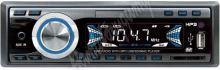 scc124 1DIN 12/24V autorádio bez mechaniky USB/SD/AUX, dálkové ovládání