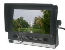 """sv74wtp Monitor 7"""" prachotěsný/voděodolný/nárazu odolný, 3x4PIN vstup"""