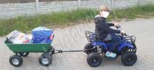 Dětská elektro čtyřkolka ATV Torino 800W 36V zelená