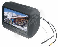 "ds-x9hd x  DVD/SD/USB monitor 9"" v černé opěrce"